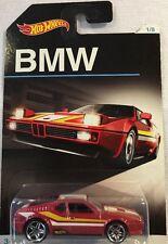 Hot Wheels Bmw Red Bmw M1 New 1/8 Mattel 2015