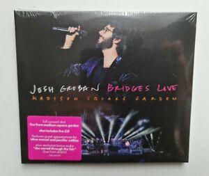 Josh Groban - Bridges Live CD + DVD 2019 NEW & SEALED 2 discs