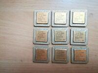 80286, AMD R80286-10, AMD 80286, Vintage CPU, GOLD, NOS