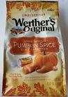 NEW LIMITED EDITION WERTHER'S ORIGINAL PUMPKIN SPICE SOFT CARAMELS FREE SHIPPING
