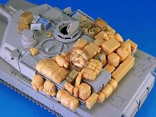 Legend 1/35 M1 Abrams MBT Tank Stowage and Accessories Set [Resin Detail] LF1163