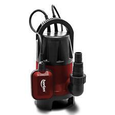 Pompa sommersa immersione elettropompa 400 W acque nere giardino 7.500 l/h