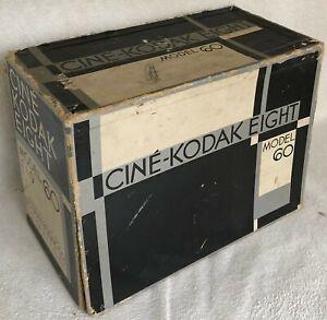 EASTMAN KODAK CINE EIGHT MOVIE CAMERA WITH CASE AND BOX