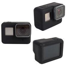 Pour GoPro HERO 5 6 Silicon Soft Case Protecteur Dirtproof Peau Caoutchouc Housse