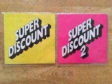 ETIENNE DE CRECY- SUPER DISCOUNT ALBUMS 1 & 2. CD Free Postage