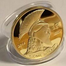 di Bitcoin Titan moneta commemorativa BTC fisico da collezione con custodia
