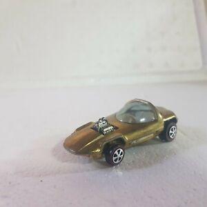 Vintage Hot Wheels Redline silhouette gold loose