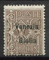 Venezia Giulia 1918 Sass. 19 Nuovo ** 100% Soprastampato 1 C,