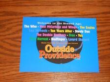 Outside Providence Postcard Promo 6x4 Classic Rock Stoned Age