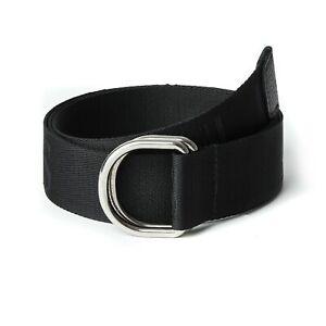 Armani Belt Men's AJ Belt New Reversible One Size Fits All Black Belt
