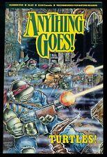 ANYTHING GOES! #5, TEENAGE MUTANT NINJA TURTLES, MIRAGE STUDIOS, 1986, NM+ 9.6!
