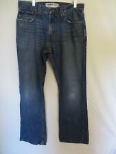 Levis 527 Jeans Low Boot Cut Red Tab Blue 32 X 32   #7729