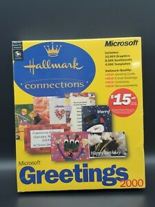 Microsoft Greetings 2000 Hallmark Connections New Sealed