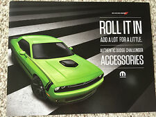 2015 Mopar Dodge Challenger accessories pamphlet brochure