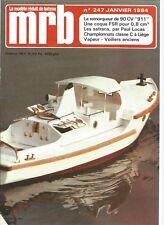 MODELE REDUIT DE BATEAU N°247 REMORQUEUR DE 90 CV / LES SAFRANS / M. VITRINES
