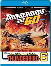 Thunderbirds Are Go / Thunderbird 6 Blu-Ray - TWILIGHT TIME - Limited BRAND NEW