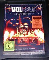 VOLBEAT LET´S BOOGIE! LIVE FROM TELIA PARKEN LIMITIERTE DOPPEL CD + DVD NEU