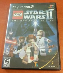 LEGO Star Wars II The Original Trilogy Sony PlayStation 2 PS2 LucasArts