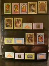 Anguilla Miscellaneous Lot of 18 Stamps - Mnh - See Details for List