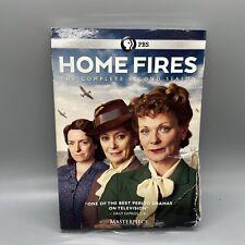 SEALED - Masterpiece: Home Fires - Season 2 (DVD, 2017, 2-Disc Set) Damaged Case