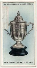 The Army Rugby Union Cup 1920s  Ad Trade Card