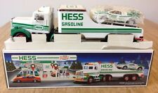 1991 Hess Truck and Racer Toy Lights New in Original Box Vintage Gift