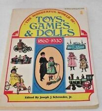 1860 1930 Toys Games Dolls History Reference Prices Illustrations Schroeder PB
