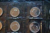 2002 BU 1 oz Canadian Silver Maple Leaf Coin Mint-Sealed, Low-Mintage Year