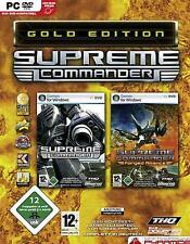 SUPREME COMMANDER + FORGED ALLIANCE = GOLD *** Top Zustand