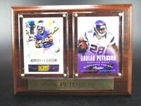 Adrian Peterson Minnesota Vikings Holz Wandbild 20 cm,Plaque NFL Football