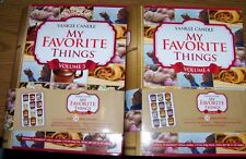 "YANKEE CANDLE ""My Favorite Things"" Sampler Votive Books Volumes 3 & 4"