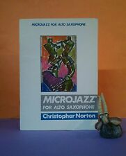 C Norton: Microjazz for Alto Saxophone (Boosey & Hawkes) sheet music/sax & piano