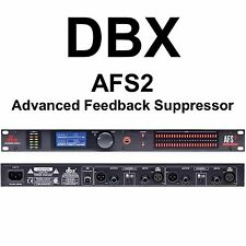 DBX AFS2 Advanced Rackmount Feedback Suppressor