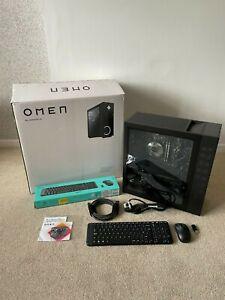 HP OMEN 30L GAMING PC,AMD RYZEN 7,NVIDIA RTX 3070,2 TB HDD,512 GB SSD + EXTRAS
