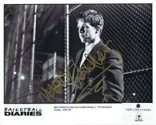 """Auth. AUTOGRAPH """"Mark Wahlberg"""" Photo from Basletball Diaries w/coa"""