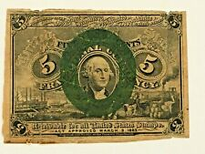 Civil War Era Fractional Currency- 10 Cents & 5 Cents
