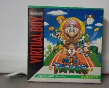 Nintendo Virtual Boy Marios Tennis Game Boxed Tested Works