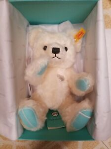 2020 Tiffany x Co. Steiff White Holiday Bear New With Tags Limited Sold Out