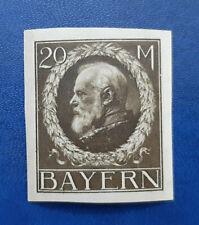 Germany Stamps Bavaria Bayern 20 Mark 1916 Mi. Nr. 109 (16651)