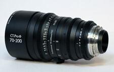 Cinematics Cine lens Canon 70-200 pl  mount for red epic scarlet bmcc ursa fs7