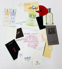 20 x Duftkarten / 20 x perfumed card / 20 x carte parfumée *LOT 004*