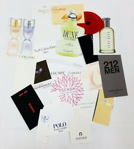 20 x Duftkarten / 20 x perfumed card / 20 x carte parfumée *LOT 004*