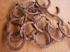 20 rustic Old Horse Shoes - great for craft work