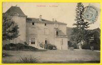 CPA France 55 - TANNOIS (Meuse) Le CHÂTEAU en 1905