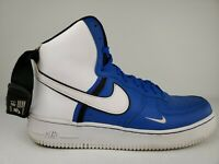 Nike Air Force 1 '07 LV8 High CI1118-400 Size 8.5 Game Royal Blue Black White
