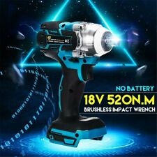 Cordless Brushless Impact Wrench 18V 1/2 520Nm For Makita Battery DTW285Z Hot