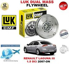 FOR RENAULT LAGUNA III 1.5 dCi 2007-ON ORIGINAL LUK DMF DUAL MASS FLYWHEEL
