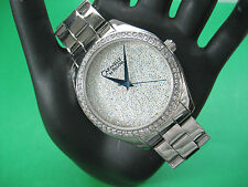 BULOVA CARAVELLE 43L158 LADIES DRESS WATCH S/S CRYSTAL DIAL/BEZEL ANALOG/MODERN