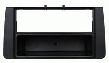 Mascherina con foro ISO/Doppio Iso/Doppio DIN colore nero Audi A3 03>12
