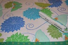 Free Spirit*Della Flannel by Valori Wells*FVW22 Ocean*NEW*4.5 Yards* End of Bolt